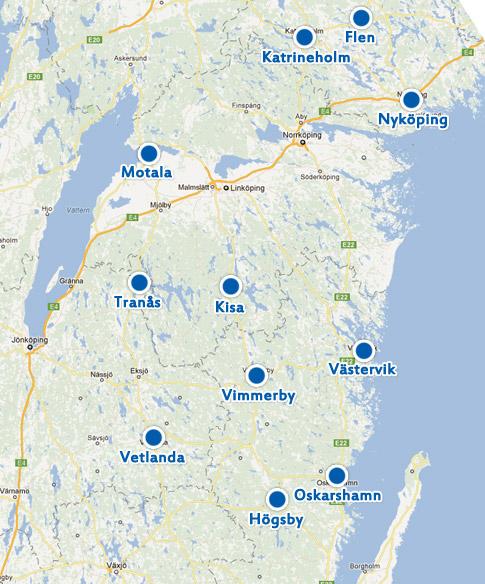 Karta Sverige Vimmerby.Nya Och Begagnade Bilar En Personlig Bilfirma Skobes