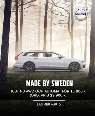 Volvo - Made by Sweden AWD + Aut