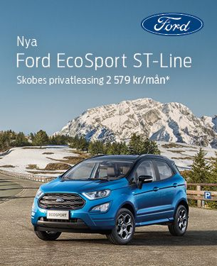 Nya Ford EcoSport ST-Line