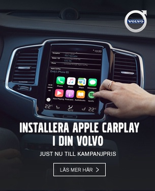Apple CarPlay till kampanjpris