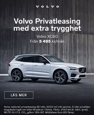 Volvo XC60 Nationell Privatleasing