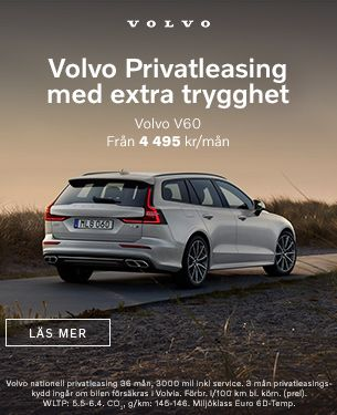 Volvo V60 Nationell privatleasing