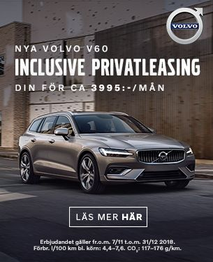 Nya Volvo V60 Privatleasing