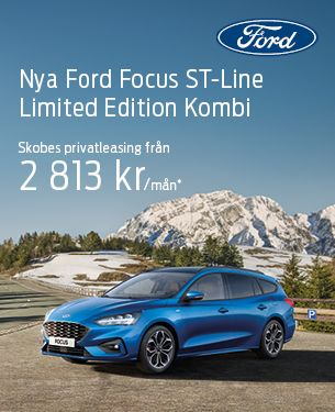 Nya Ford Focus ST-Line Limited Edition Kombi