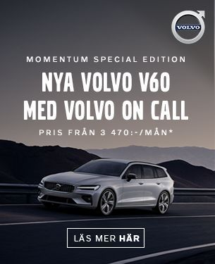 Nya Volvo V60 med Volvo On Call - FLEN